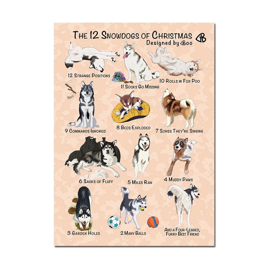 12 snowdogs of christmas