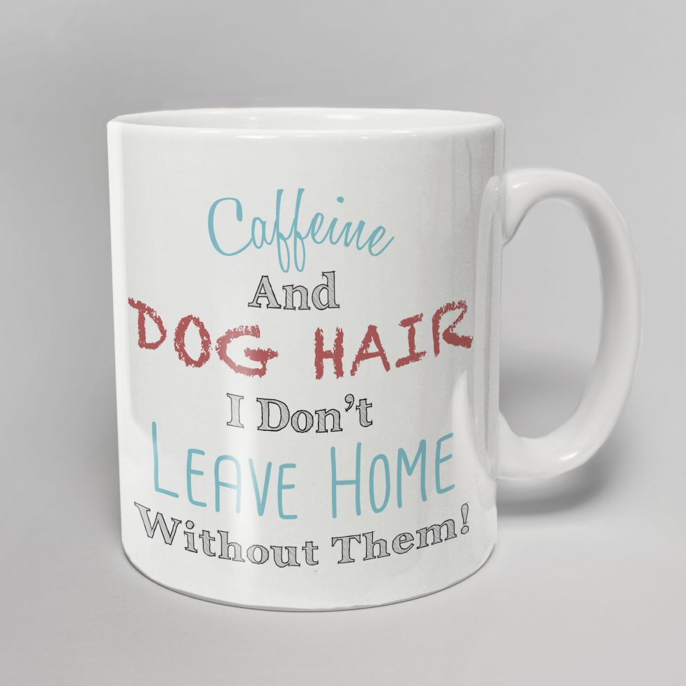 caffiene and dog hair