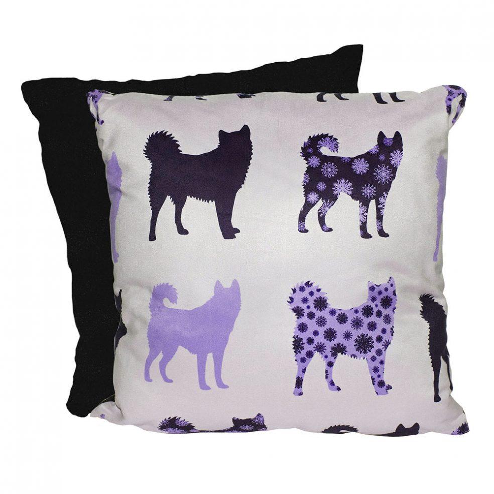 purple snowdog