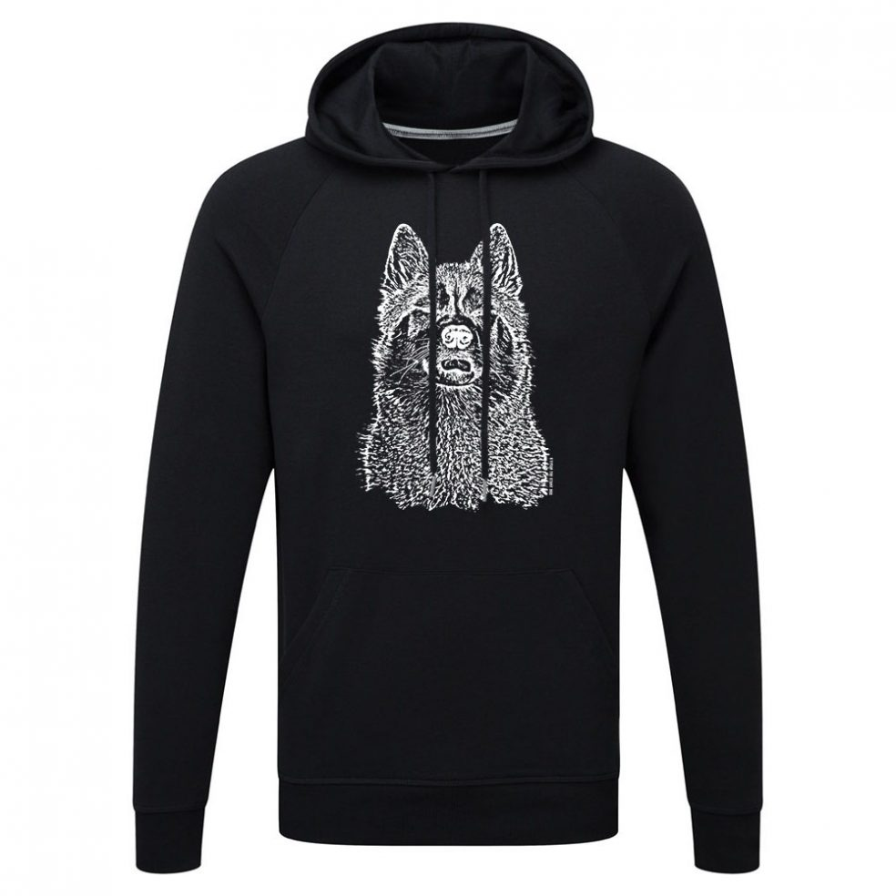 black key hoody