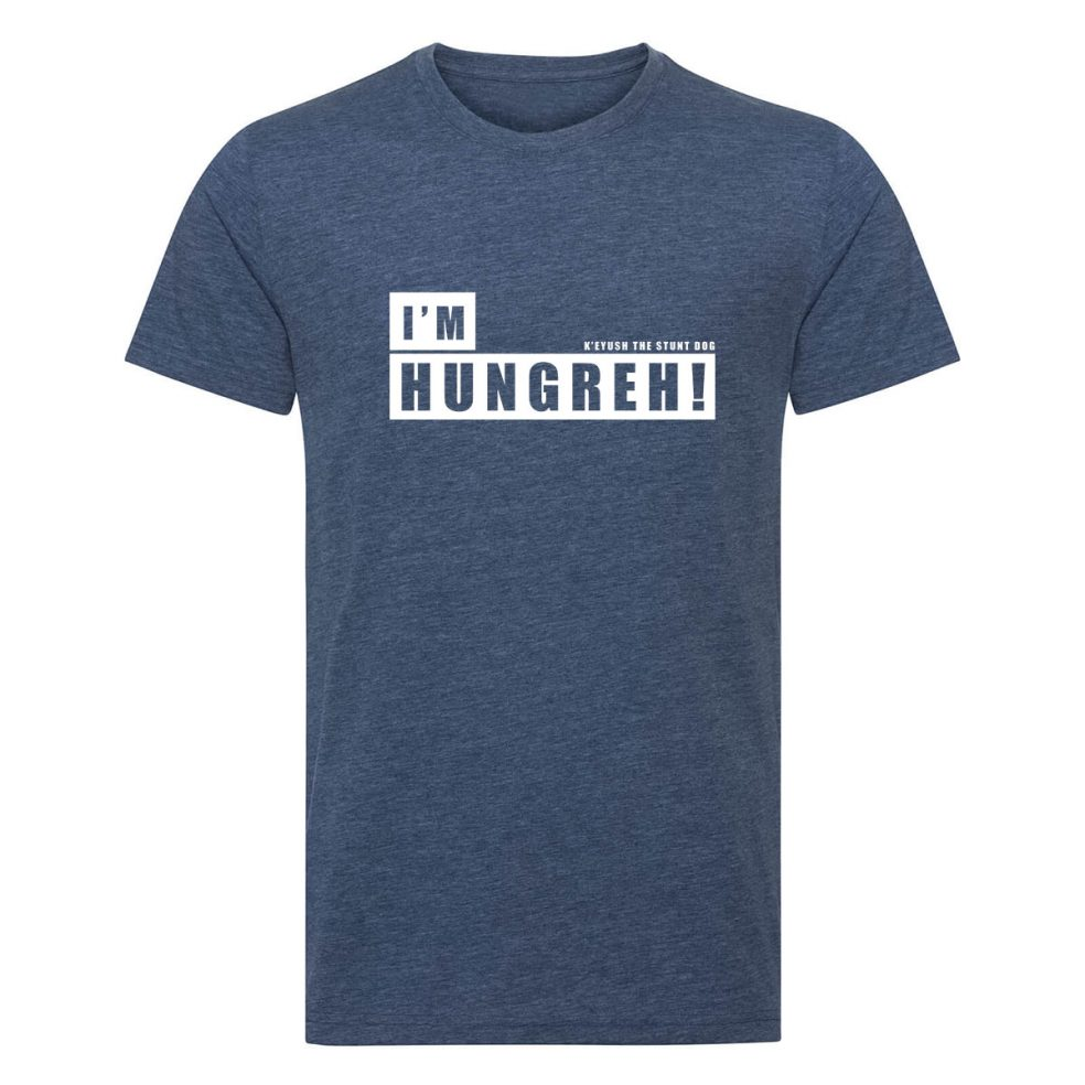 I'm hungreh mens navy