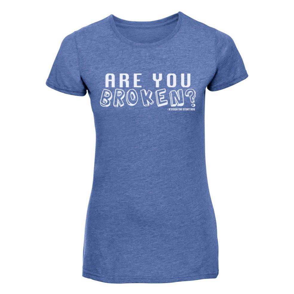 are you broken ladies blue