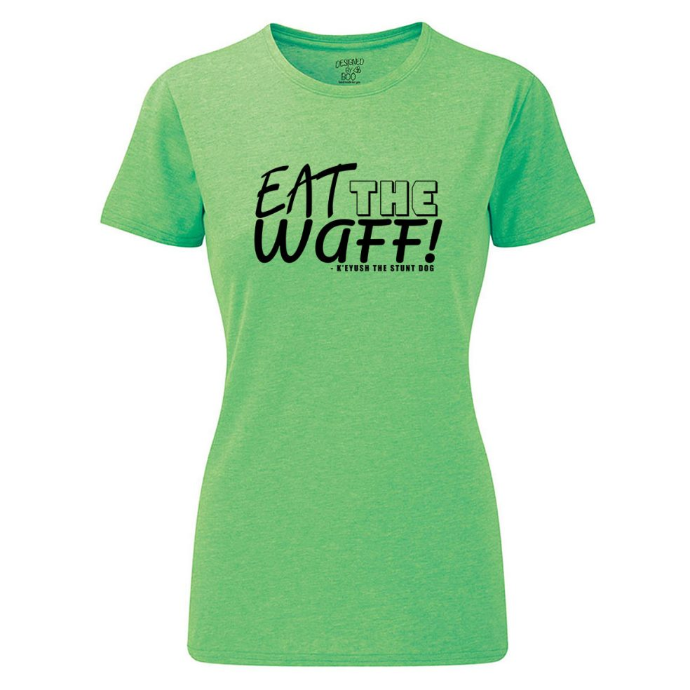 eat the waff ladies green