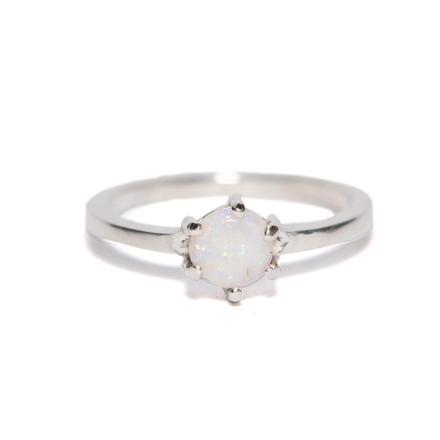 WEB opal ring b