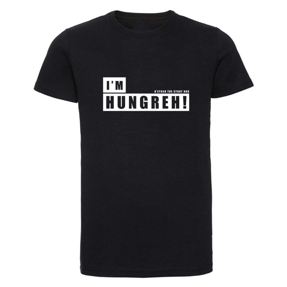 I'm hungreh mens black