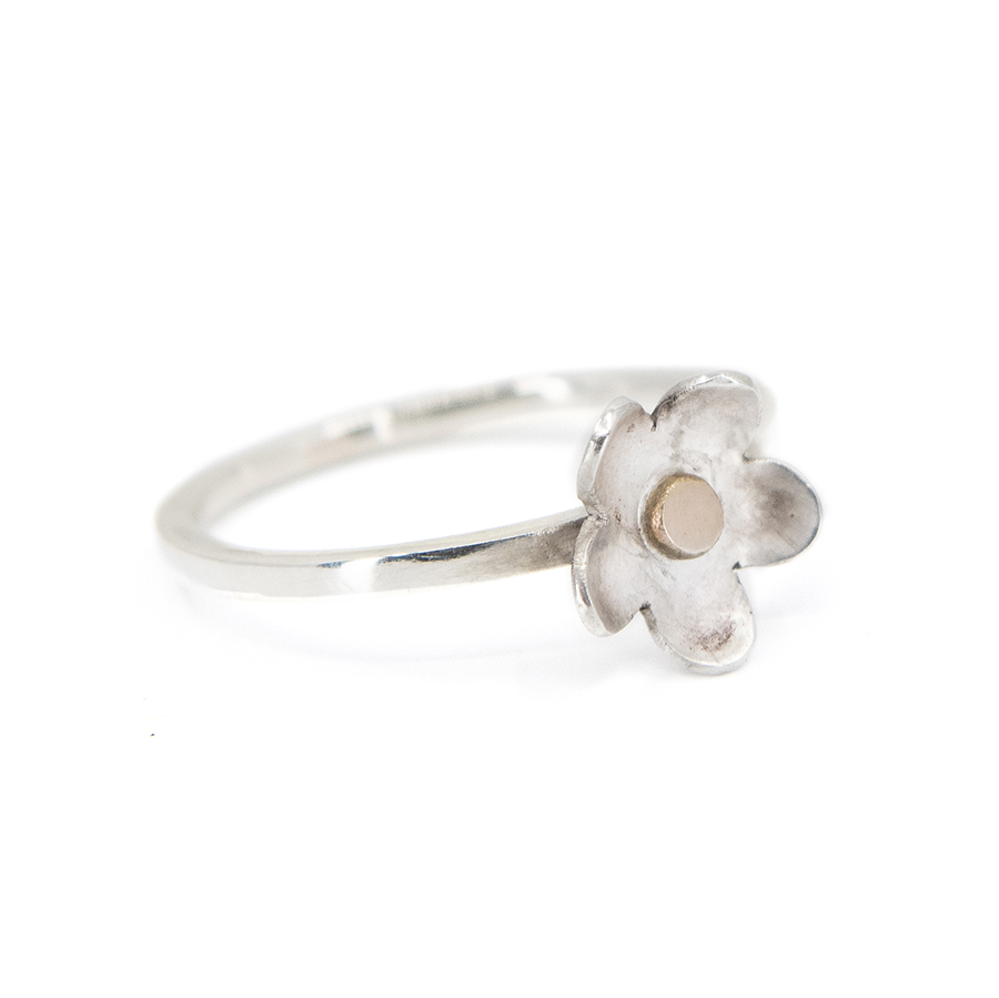 WEB daisy rose ring b