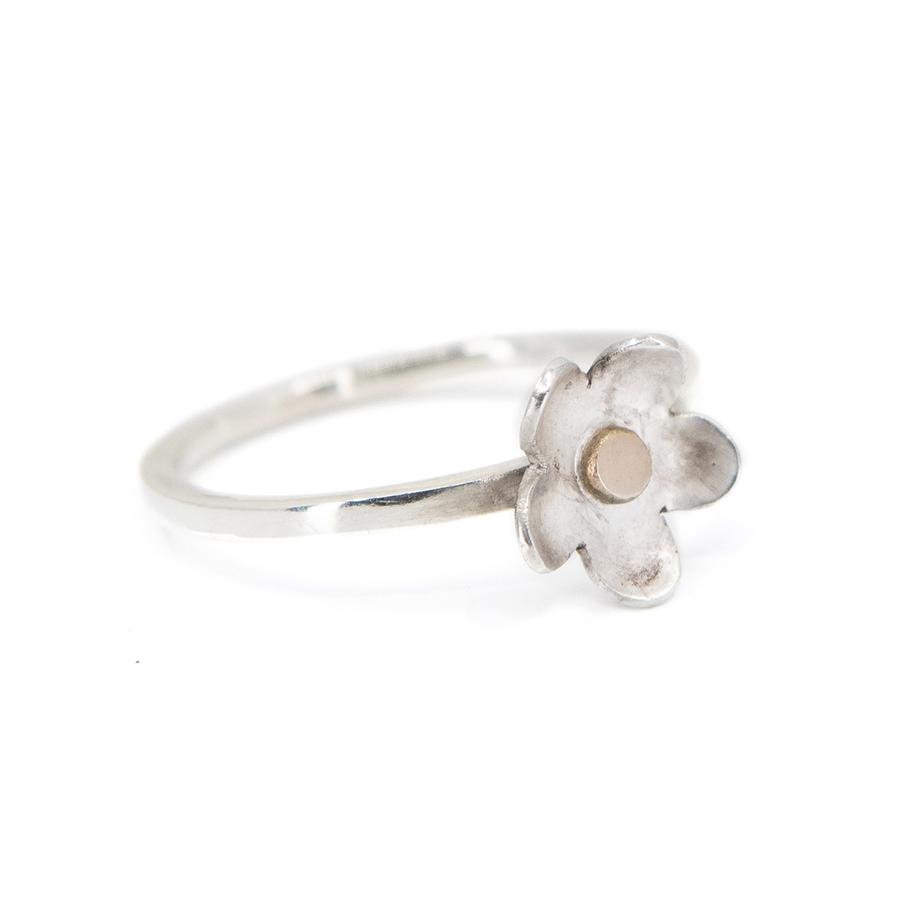 WEB daisy rose ring b