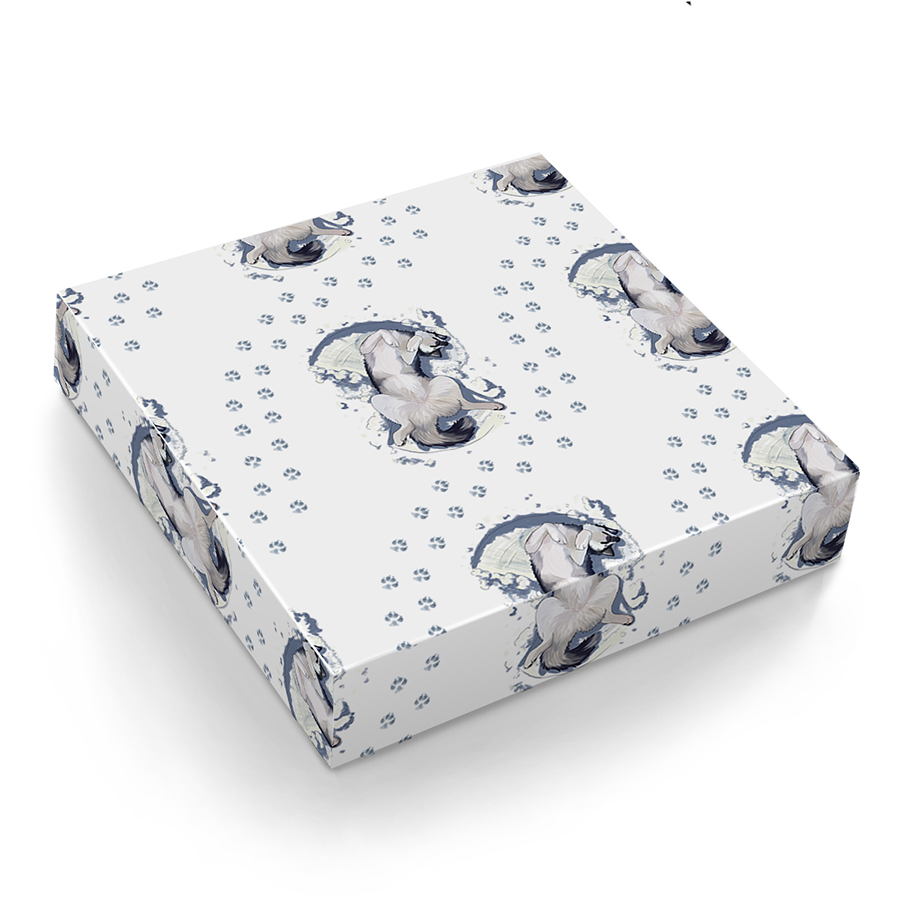 Snow Angel Snowdog – Gift Wrap