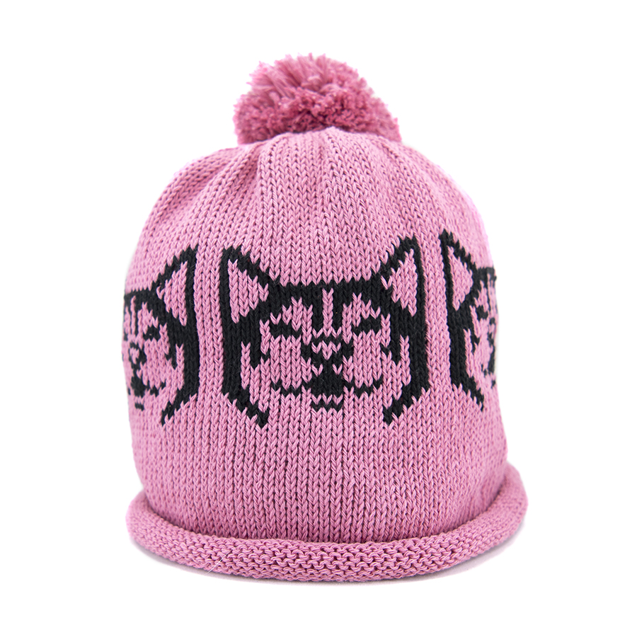 Snowdog in Pink And Black – Adult Hat