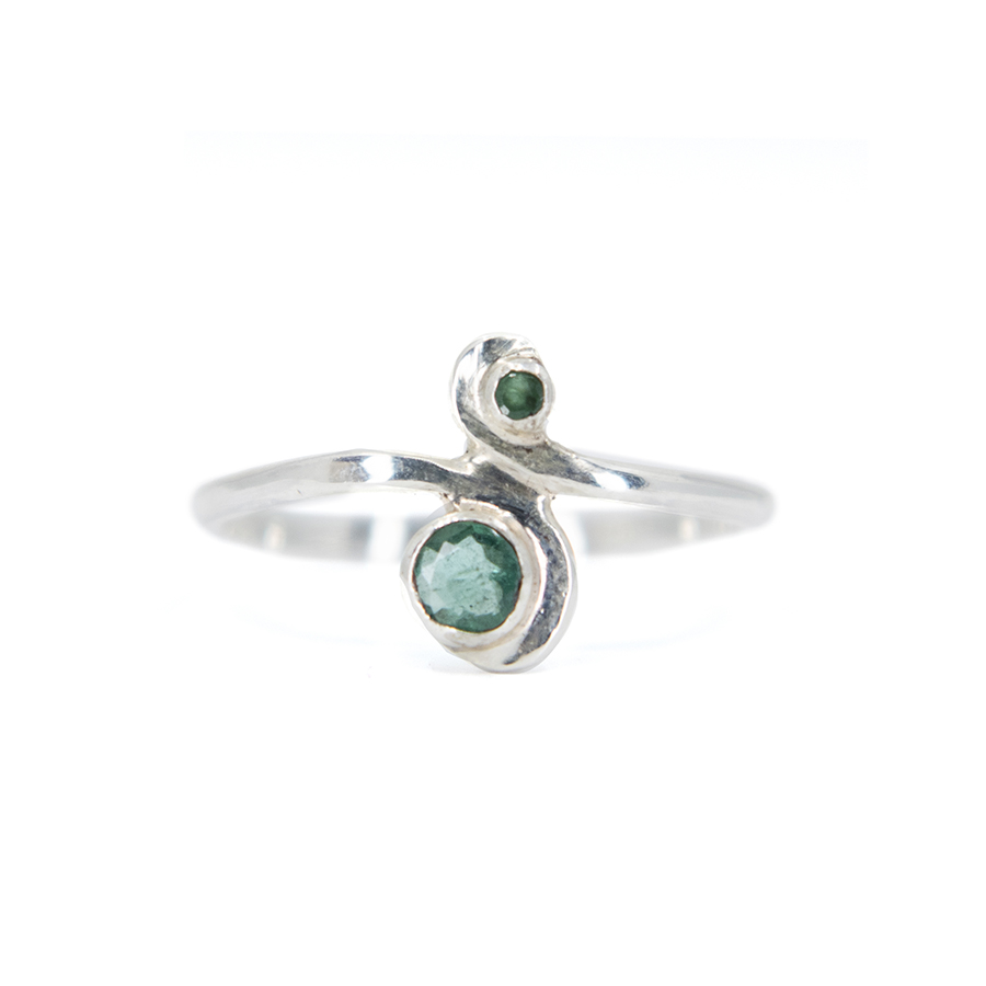 WEB emerald s ring a