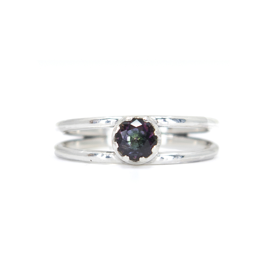 WEB mystic fire twin ring a