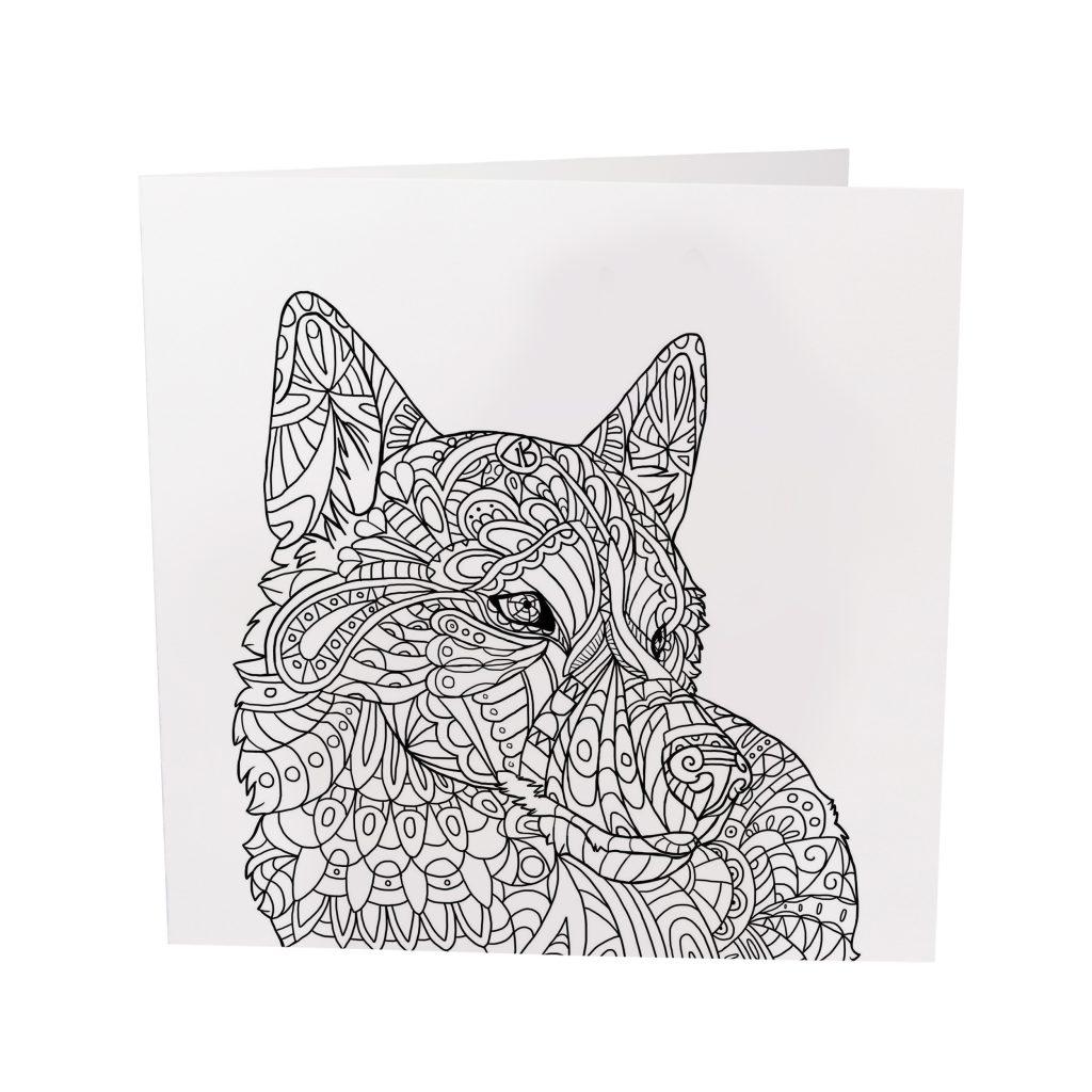 Husky Pattern – Card