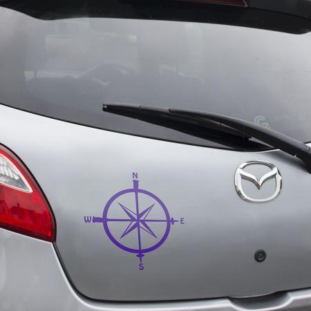 compass purple