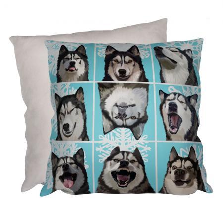 husky snowdog malamute moods