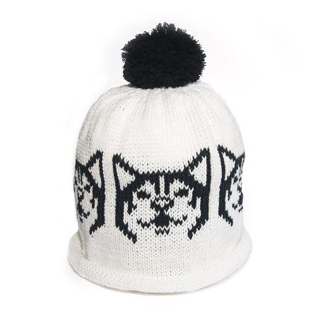 b&w hat