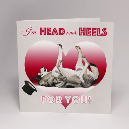 head over heels keyush card