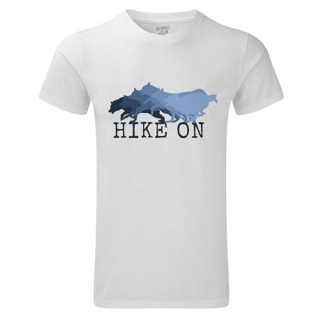 hike on mens white