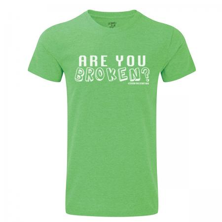 are you broken mens green