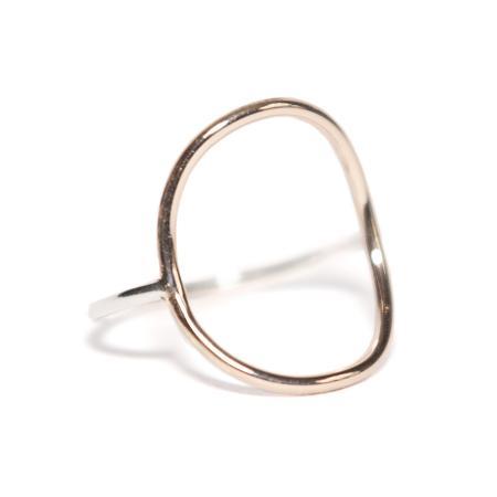 WEB rose circle ring 3